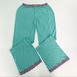 Victoria's Secret Lace Trim Pajama Pants